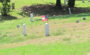 Hollywood Cemetery, Confederate flag, Civil War